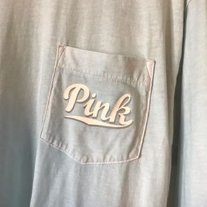 PINK Victoria's Secret Tops - VS PINK Size Small Long Sleeve Shirt
